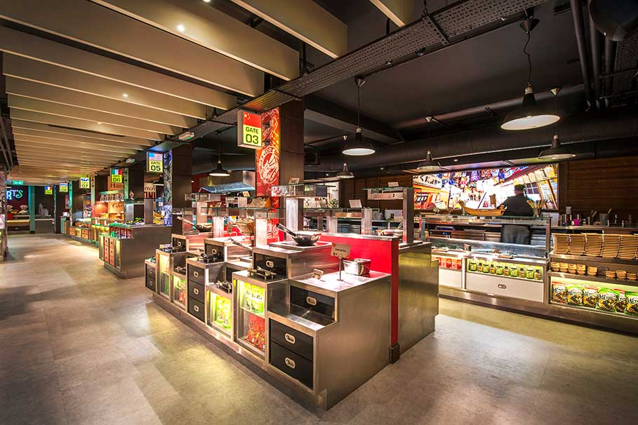 Red-Hot-World-Buffet-Leicester-Restaurant-Interior-Design-1